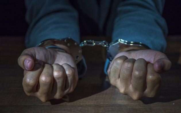 Festnahme Handschellen Haft