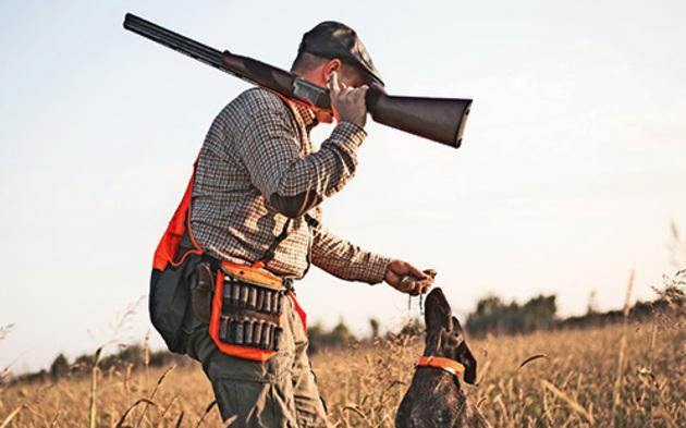 Jäger-Hund-Jagd