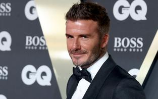 David Beckham färbte Haar wieder blond