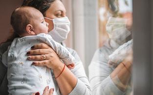 Kindern fehlt in der Pandemie Kontakt zu Bezugspersonen