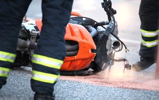 Todes-Crash in OÖ: Biker von Pkw überrollt
