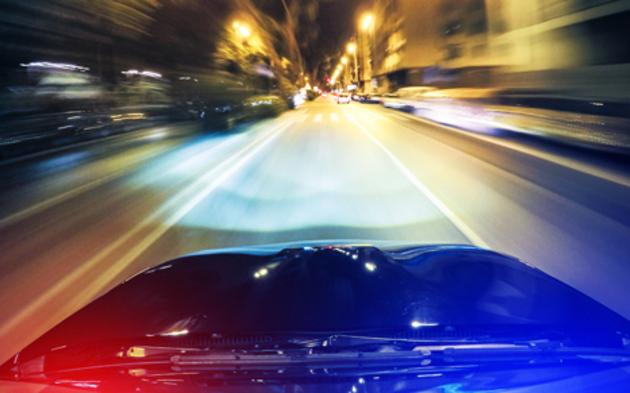 Verfolgungsjagd Polizei Blaulicht Raser
