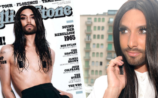 Conchita: Nackt am Rolling-Stone-Cover