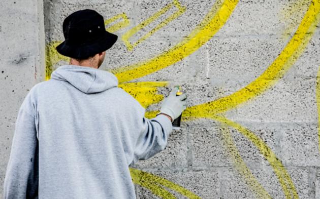 Sprayer Graffiti