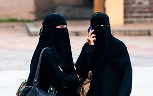 Burka-Verbot: Polizei schritt 100x ein