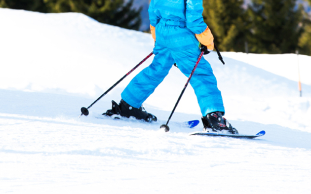 Skifahren Kinder