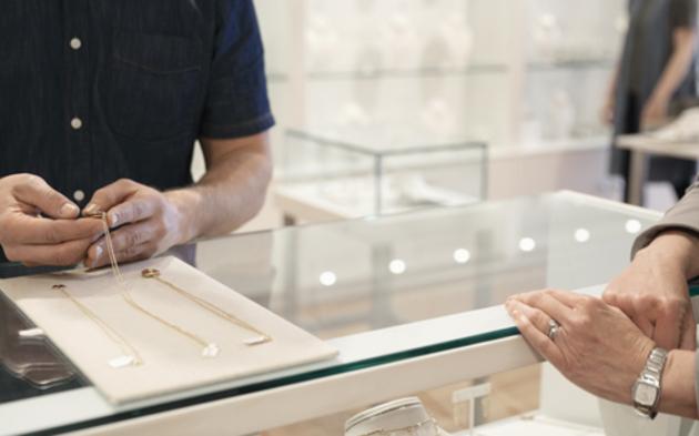 Schmuck Juwelier Schmuckverkauf Ketten