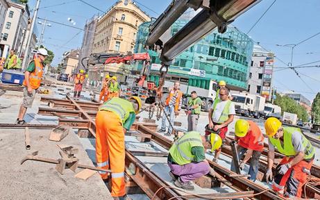 Wiener Linien planen heuer 40 Bim-Baustellen