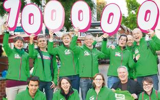 Grüne besuchten 100.000 Häuser