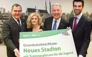 Jetzt ist es fix: Neues Stadion für Wr. Neustadt