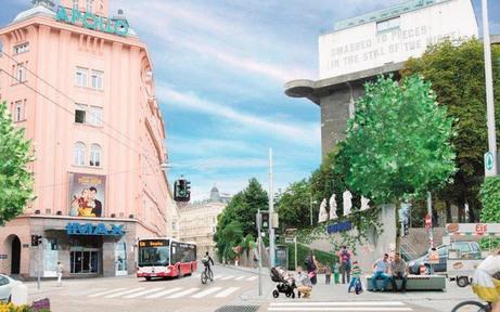 Grüne wollen Gumpendorfer Straße neu gestalten