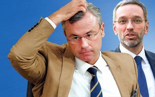 Kickl, Hofer und FPÖ stürzen nach Demo ab