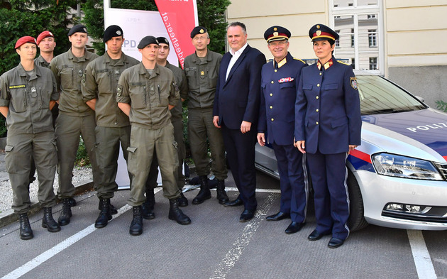 Heer Polizei Doskozil