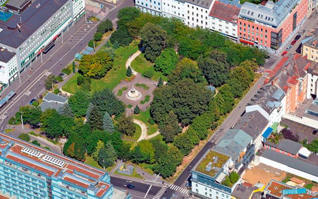 """Linz startet das Projekt """"Hessenpark"""""""