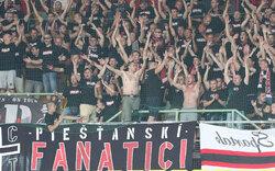 Hooligan-Krawalle bei Austria gegen Trnava