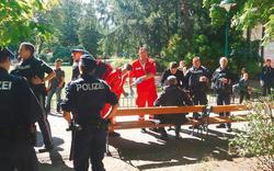 Schüsse und Prügelei in Wiener Park