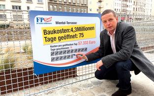 Wiental-Terrasse kostet pro Tag 57.000 €