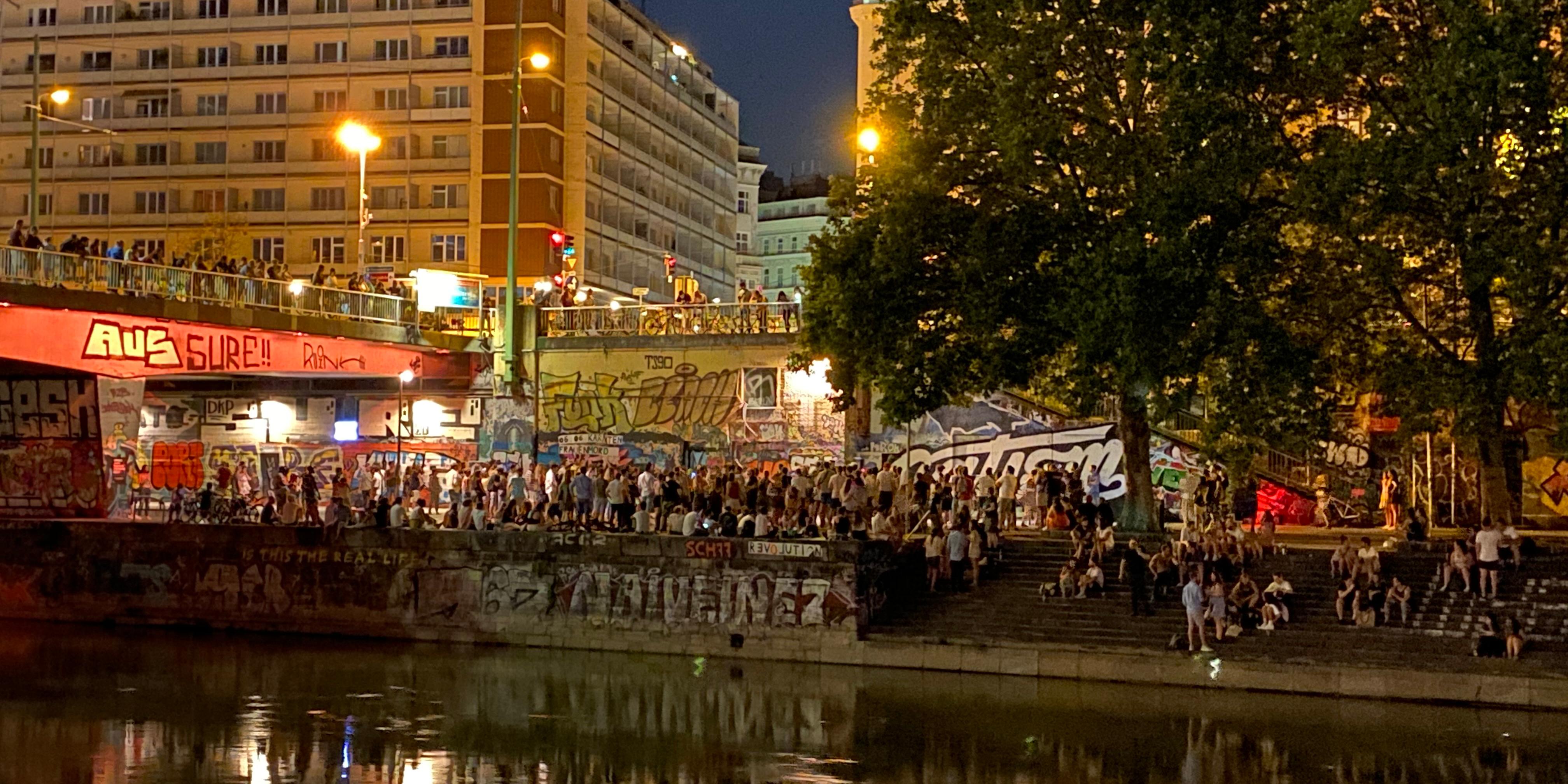 Donaukanal Party
