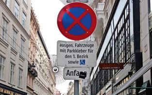 Kurzparkzonen in Wien auch nach Ostern aufgehoben