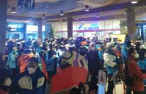 Schock-Bilder: Massen drängen in Talstation