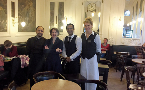 Café Ritter in Ottakring feiert sein Comeback