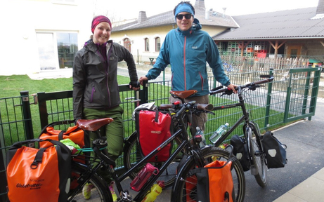 Fahrrad-Weltreise für den guten Zweck