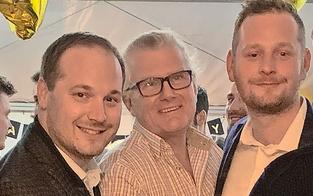 Nach Schlagabtausch: ÖVP-Bezirkschef & FPÖ-Klubchef feierten