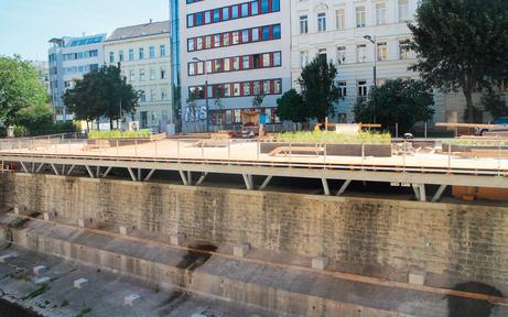 Wiental-Terrasse bleibt bis Frühjahr gesperrt
