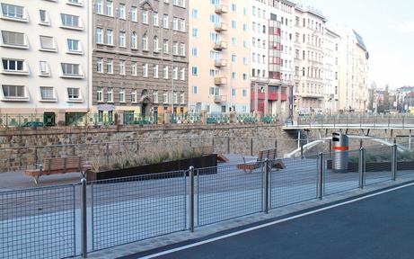 Wiental-Terrasse bald wieder zugänglich