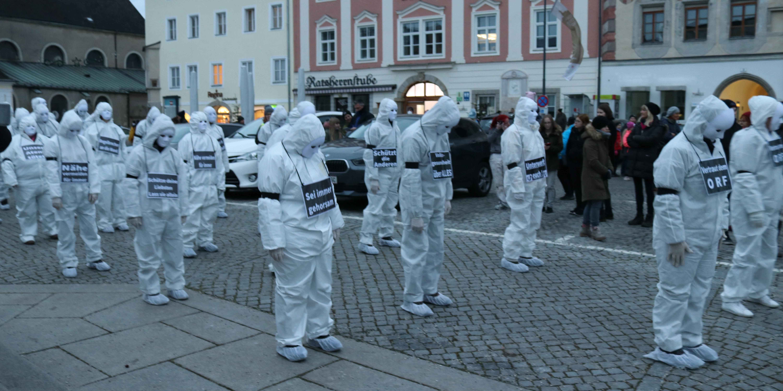Grusel-Demos von Corona-Gegnern in Oberösterreich | Schock in Linz, Steyr, Freistadt, Wels