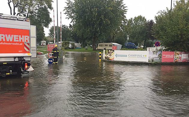 Kärnten Regen