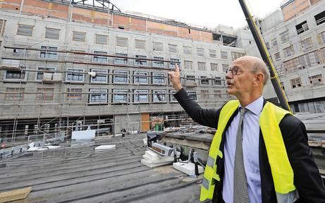 KHN-Architekt hat noch nie Spital gebaut