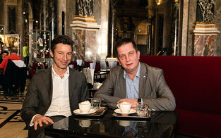 Nach Umbau: Café mit Ausblick im KHM