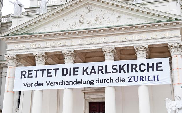 Karlskirche Transparent