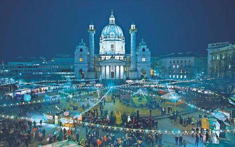 """""""Art Advent"""": Alles bio vor der Karlskirche"""
