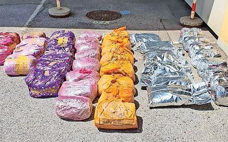 Bande schmuggelte über 5 Tonnen Drogen ins Land