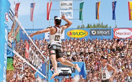 Beach-WM: Donauinsel wird zur Partyzone