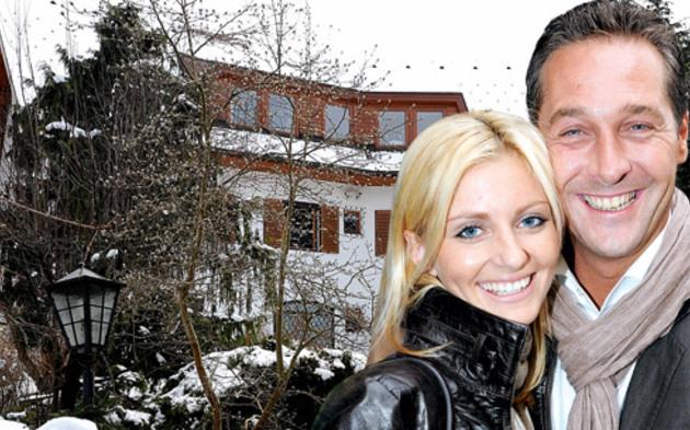 Strache-Villa in Klosterneuburg