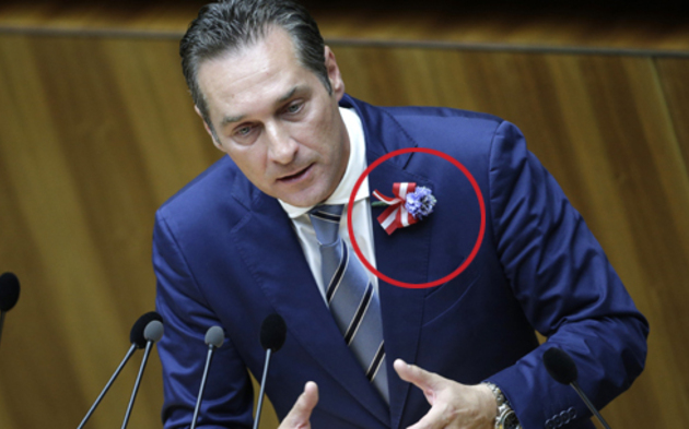 Hofer trug Nazi-Blume bei Angelobung