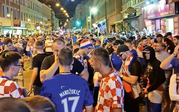 Kroaten-Krawalle