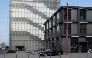 Kunst innen und außen im Kunsthaus Bregenz