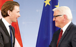 Ganz Berlin liebt Außenminister Kurz