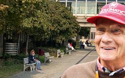 Das Lauda-Wunder: Niki bald auf Reha
