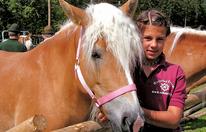 »Fest der blonden Pferde« in Annaberg