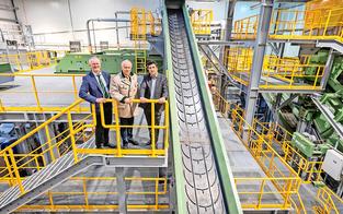 10,5 Millionen Euro für neue Recyclinganlage