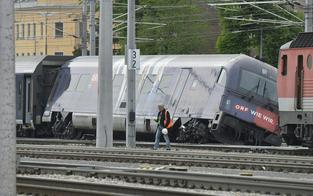 Zugunglück: S-Bahnen fahren Meidling nicht an