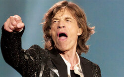 Jagger feiert den Vatertag in Wien