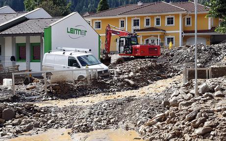 Muren-Schutzmauer in Afritz ist fertig