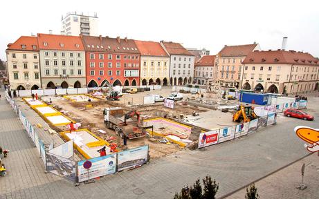 "Wr. Neustadts ""Naschmarkt"" nimmt Form an"