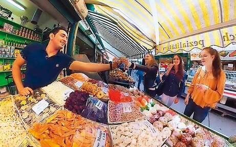Naschmarkt im 360°-Video